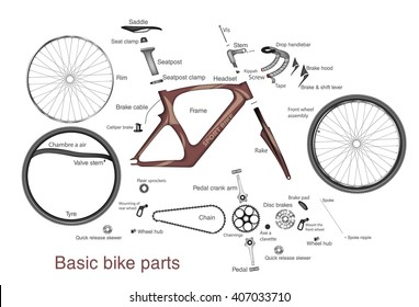 Bicycle Parts Images Stock Photos Vectors Shutterstock