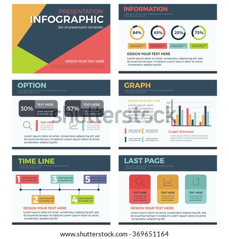 Infographic presentation template powerpoint business marketing infographic presentation template powerpoint business marketing vector design illustration flashek Choice Image