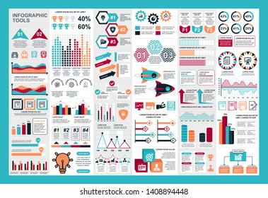 infographic teamwork vector design template - Vector