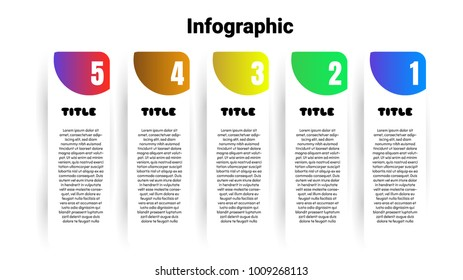 infographic template in banner ,style  ,Vector