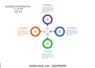 Infografik-Template-Design, Infografik-Element