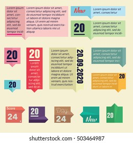 Infographic Templates for Business and magazine Vector Illustration. EPS10