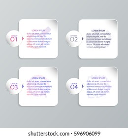 Infographic Templates for Business, Vector Illustration. EPS10