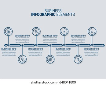 Infographic Templates in Paper Style