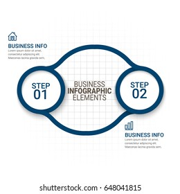 infographic templates paper style stock vector royalty free