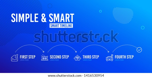 Infographic Timeline Music Making Open Mail Stock Vector Royalty Free 1416530954