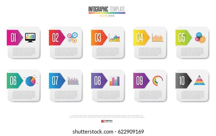 Infographics design element. Vector eps10