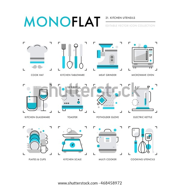 infographics-icons-collection-kitchen-ap