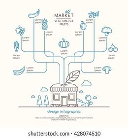 Mercado Agricola Stock Vectors, Images & Vector Art