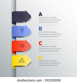 Inforgraphic elements - Transparent shadows , easy to place on all surfaces