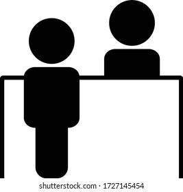 Information counter icon. Vector illustration