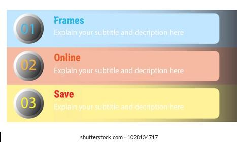 Information explain banner