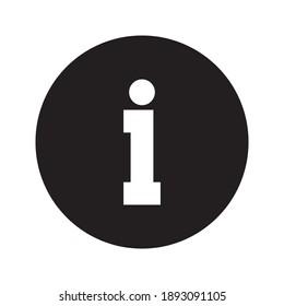 information icon - info symbol vector illustration on white background