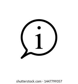 information icon vector design template