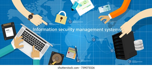 information security management system technology digital database standard on securing company data