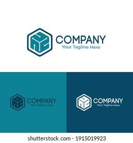Information Technology Logo Template Design