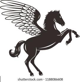 ini logo pegasus sangat cocok untuk logo perusahaan otomotif