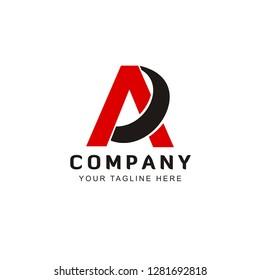 Initial AD logo design inspiration
