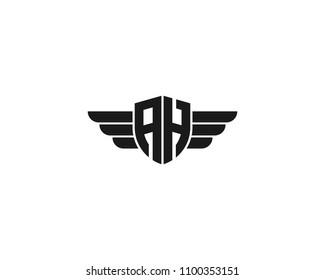 Ah Monogram Stock Vectors Images Vector Art Shutterstock