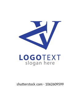 Initial AV Logo Vector
