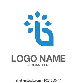 Initial B logo design Vector
