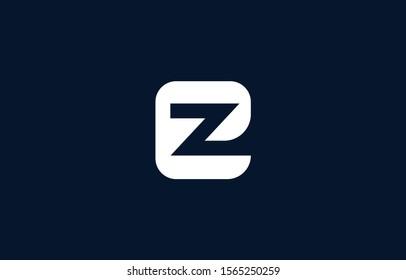 Initial based clean and minimal E Logo. EZ ZE Z letter creative fonts monogram icon symbol. Universal elegant luxury alphabet vector design