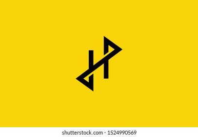 Initial based clean and minimal H Logo. HZ ZH Z letter creative fonts monogram icon symbol. Universal elegant luxury alphabet vector design