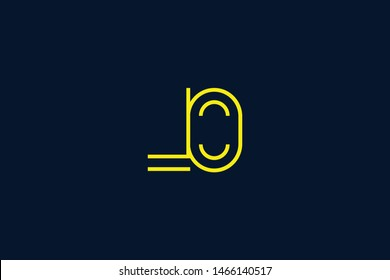 Initial based clean and minimal Logo. LO OL L O letter creative monochrome monogram icon symbol. Universal elegant luxury alphabet vector design