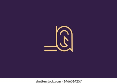 Initial based clean and minimal Logo. QL LQ Q L letter creative monochrome monogram icon symbol. Universal elegant luxury alphabet vector design