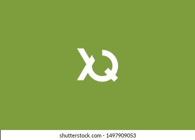 Initial based clean and minimal Logo. QX XQ Q X letter creative monochrome monogram icon symbol. Universal elegant luxury alphabet vector design