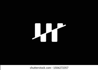 Initial based clean and minimal Logo. WN NW W N letter creative fonts monogram icon symbol. Universal elegant luxury alphabet vector design