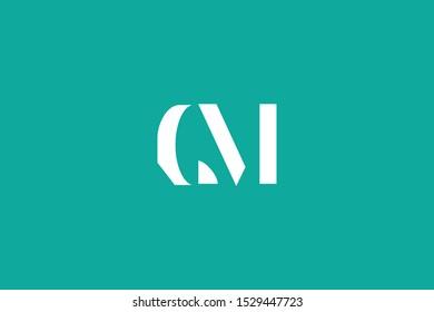 Initial based clean and minimal Logo. CM MC C M letter creative fonts monogram icon symbol. Universal elegant luxury alphabet vector design