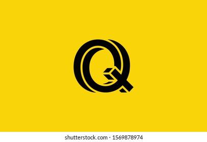 Initial based clean and minimal Q Logo. Q letter creative fonts monogram icon symbol. Universal elegant luxury alphabet vector design