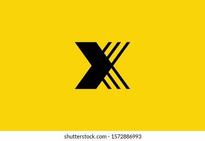 Initial based clean and minimal X Logo. X letter creative fonts monogram icon symbol. Universal elegant luxury alphabet vector design