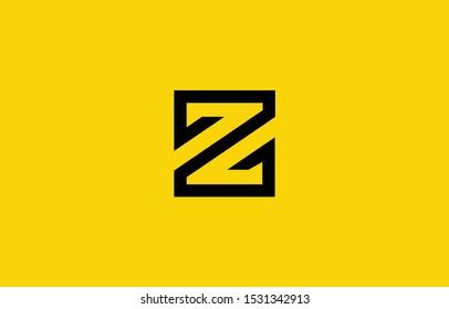 Initial based clean and minimal Z Logo. Z letter creative fonts monogram icon symbol. Universal elegant luxury alphabet vector design