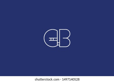 Initial BG GB Letter Logo Design Vector Template. Creative and Minimal Alphabet B G Letters icon Illustration.