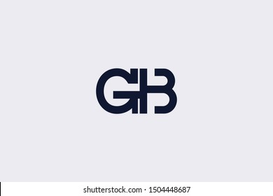 Initial BG GB Letter Logo Design Vector Template. Monogram and Creative Alphabet B G Letters icon Illustration.