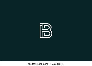 Initial BI IB Letter Logo Design Vector Template. Monogram and Creative Alphabet B I Letters icon Illustration.