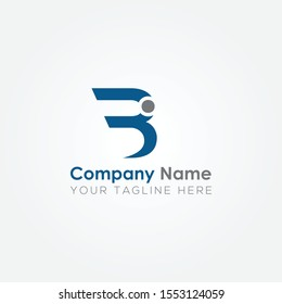 Initial BI Letter logo vector template design. Linked Letter BI Logo design.