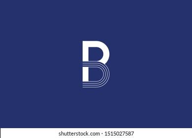 Initial BP PB Logo Letter Design Vector Template. Monogram and Creative Alphabet B P Letters icon Illustration.