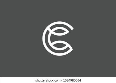 Cc Monogram Logo Images Stock Photos Vectors Shutterstock