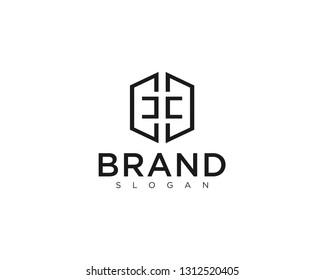 Initial CC home logo vector.