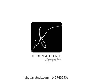 Initial CF beauty monogram and elegant logo design, handwriting logo of initial signature, wedding, fashion, floral and botanical with creative template.