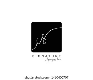 Initial CS beauty monogram and elegant logo design, handwriting logo of initial signature, wedding, fashion, floral and botanical with creative template.