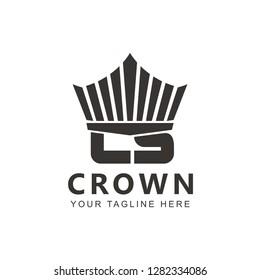 Initial CS or Crown Logo