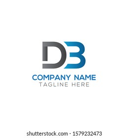 Initial DB Letter Logo With Creative Modern Business Typography Vector Template. Creative Letter DB Logo Vector.