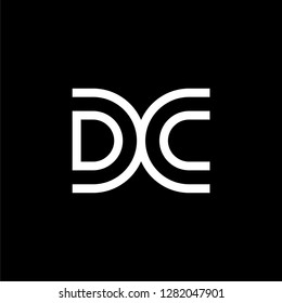 initial DC  letter D technology IT  combination D