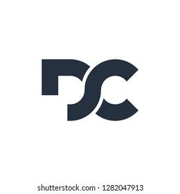 initial DC  letter D technology IT  combination D