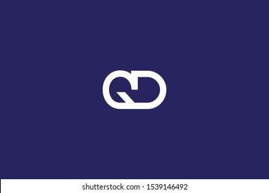 Initial DG GD Letter Logo Design Vector Template. Monogram and Creative Alphabet D G Letters icon Illustration.