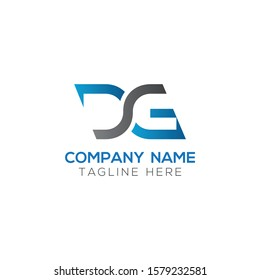 Initial DG Letter Logo With Creative Modern Business Typography Vector Template. Creative Letter DG Logo Vector.